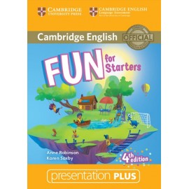 Fun for Starters Fourth edition Presentation Plus DVD-ROM
