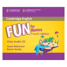 Fun for Movers Fourth edition Audio CD