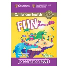 Fun for Movers Fourth edition Presentation Plus DVD-ROM