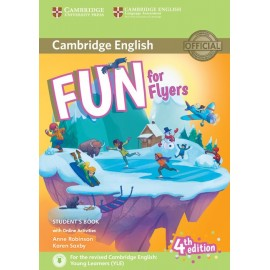 Fun for Flyers Fourth edition Student´s Book with audio with online activities