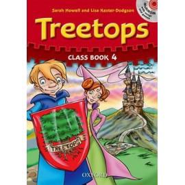 Treetops 4 Class Book + MultiROM