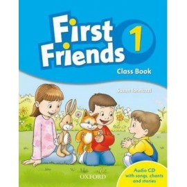 First Friends 1 Class Book + CD