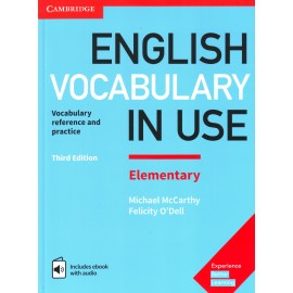 English Vocabulary in Use Elementary Third Edition with Answers + eBook with Audio Access Code