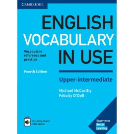 English Vocabulary in Use Upper-Intermediate Fourth Edition with Answers + eBook with Audio Access Code