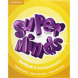 Super Minds 5 Workbook with Online Resources
