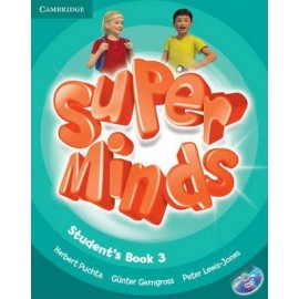 Super Minds 3 Student's Book + DVD-ROM