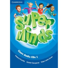 Super Minds 1 Class Audio CDs