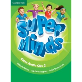 Super Minds 2 Class Audio CDs