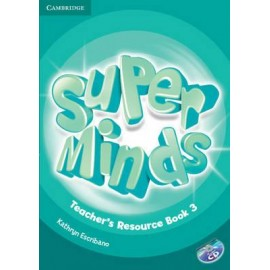 Super Minds 3 Teacher's Resource Book + Audio CD