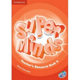 Super Minds 4 Teacher's Resource Book + Audio CD