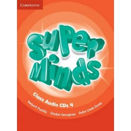 Super Minds 4 Class Audio CDs