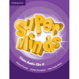 Super Minds 6 Class CDs