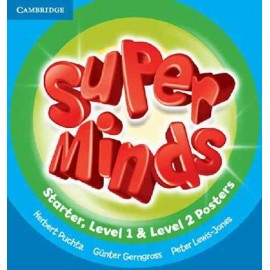 Super Minds Starter, 1 & 2 Posters
