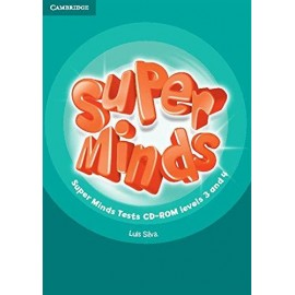 Super Minds 3 & 4 Tests CD-ROM