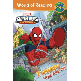 World of Reading Level Pre-1: Marvel Super Hero Adventures - Thwip! You Are It!