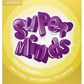Super Minds 5 Posters