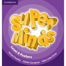 Super Minds 6 Posters