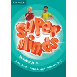 Super Minds 3 Wordcards