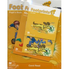 Footprints 3 Pupil's Book Pack (Pupil's Book, CD-ROM, Songs & Stories Audio CD & Portfolio Booklet)