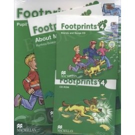 Footprints 4 Pupil's Book Pack (Pupil's Book, CD-ROM, Songs & Stories Audio CD & Portfolio Booklet)