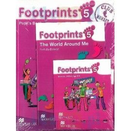 Footprints 5 Pupil's Book Pack (Pupil's Book, CD-ROM, Songs & Stories Audio CD & Portfolio Booklet)