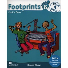 Footprints 6 Pupil's Book Pack (Pupil's Book, CD-ROM, Songs & Stories Audio CD & Portfolio Booklet)