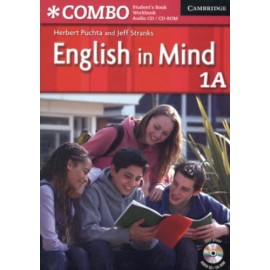 English in Mind Combo 1A Student's Book + Workbook + CD-ROM