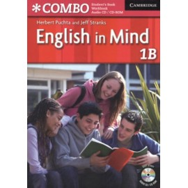 English in Mind Combo 1B Student's Book + Workbook + CD-ROM