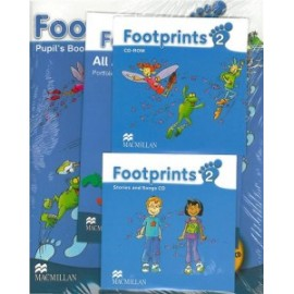 Footprints 2 Pupil's Book Pack (Pupil's Book, CD-ROM, Songs & Stories Audio CD & Portfolio Booklet)
