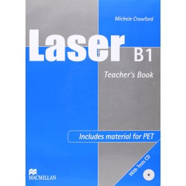 Laser B1 Teacher's Book + Tests CD New Ed.