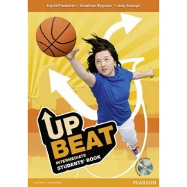 UPBEAT Intermediate Student's Book + Multi-ROM