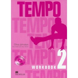 Tempo 2 Workbook + CD-ROM