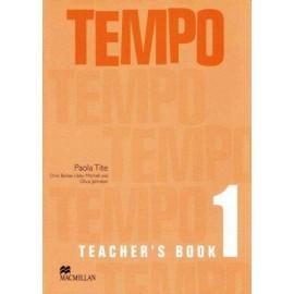 Tempo 1 Teacher's Book