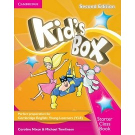 Kid's Box Second Edition Starter Class Book + CD-ROM