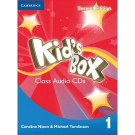 Kid's Box Second Edition 1 Class CDs