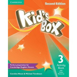 Kid's Box Second Edition 3 Activity Book + Online Resources