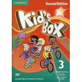 Kid's Box Second Edition 3 Interactive DVD + Teacher's Booklet