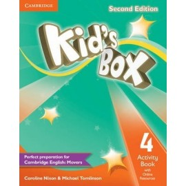 Kid's Box Second Edition 4 Activity Book + Online Resources