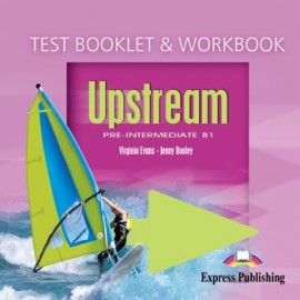 Upstream Pre-intermediate Workboo and Test Booklet Audio CD
