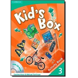 Kid's Box 3 Activity Book with CD-ROM
