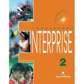 Enterprise 2 Student's Book with CD