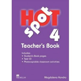Hot Spot 4 Teacher's Book + Test CD