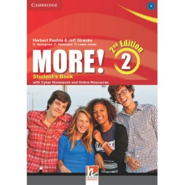 More! 2 Second Edition Student's Book + Cyber Homework + Online Resources