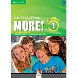 More! 1 Second Edition Student's Book + Cyber Homework + Online Resources