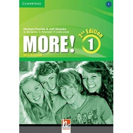 More! 1 Second Edition Workbook