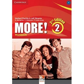 More! 2 Second Edition Workbook