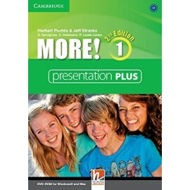 More! 1 Second Edition Presentation Plus DVD-ROM