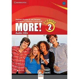More! 2 Second Edition Class CDs