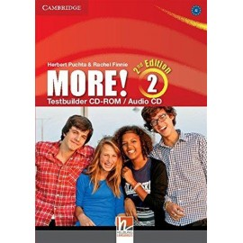 More! 2 Second Edition Testbuilder CD-ROM/Audio CD