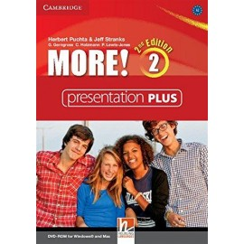 More! 2 Second Edition Presentation Plus DVD-ROM